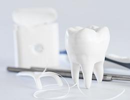 医師、歯科衛生士・助手・受付がそれぞれのプロとして患者さんに対応します。